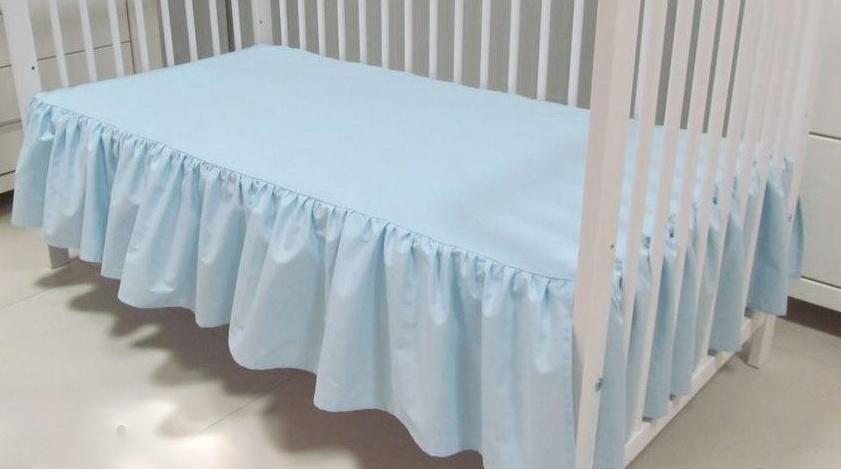 bettvolant betthusse bettlaken für babybett 70x140cm oder 60x120, Hause deko