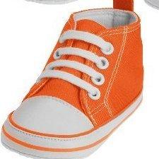 online store 49dfa 4d85c Playshoes Lauflernschuhe Turnschuhe orange