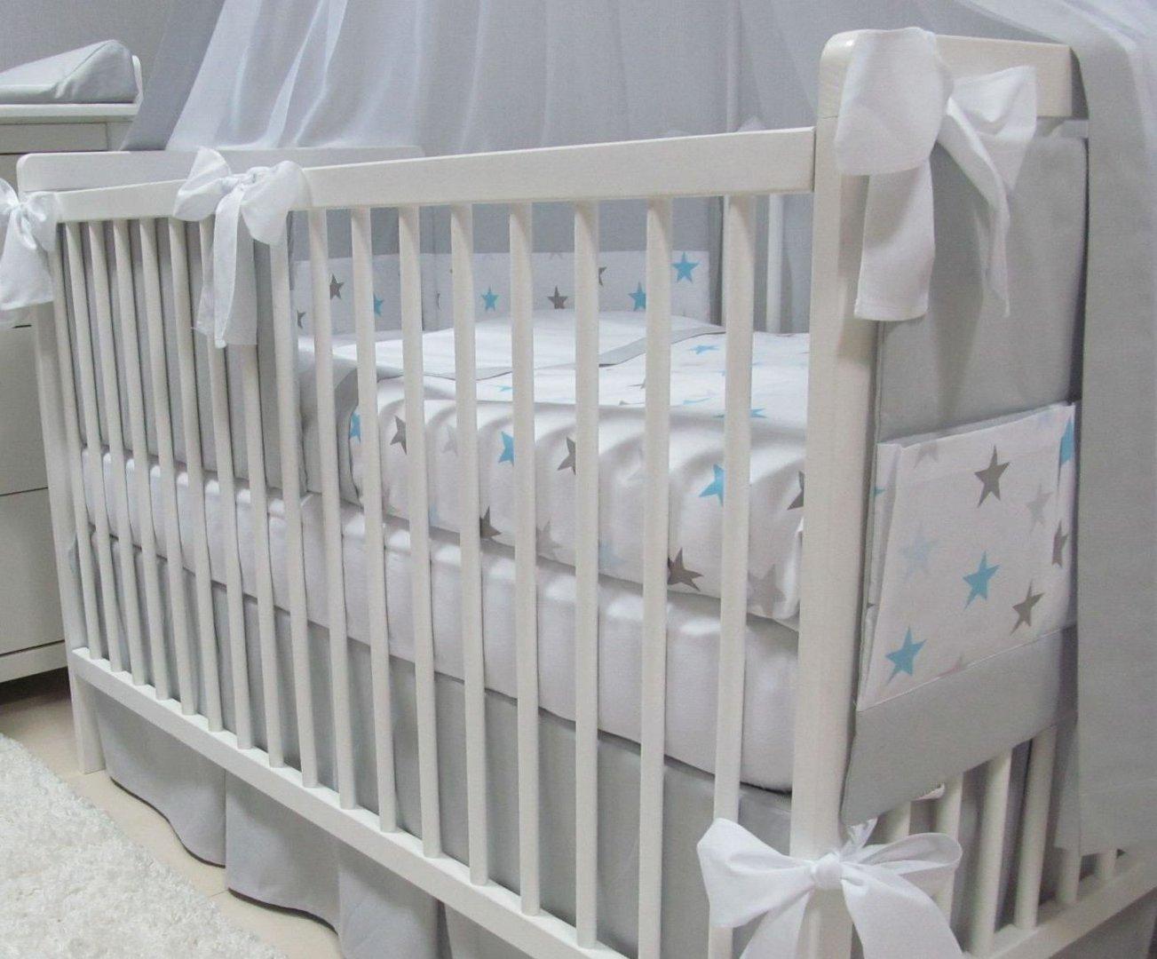 Babymajawelt 5489 Bettwäsche Set 5tlg Big Stars Sterne