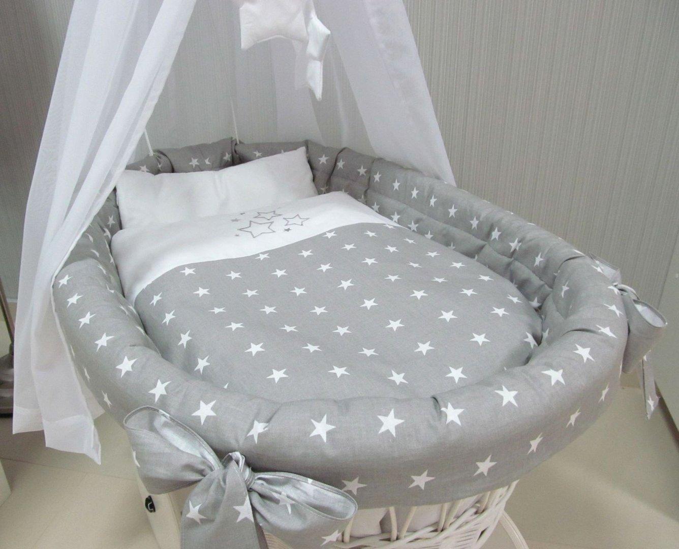Stubenwagen bettwäsche set bettwäsche set für moseskorb babykorb