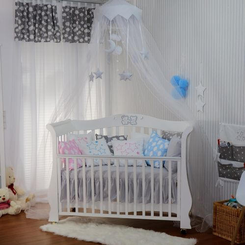Babymajawelt® Betthimmel Baldachin Moskitonetz XXL BiG Dream