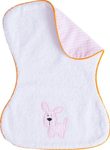 Smithy Fashion Spucktuch  Lucky Dog, 30x40 cm, rosa